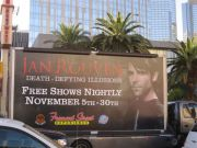 Moving Billboard on the Las Vegas Strip
